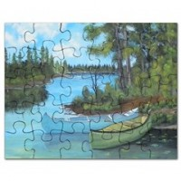 Canoe Painting Puzzle